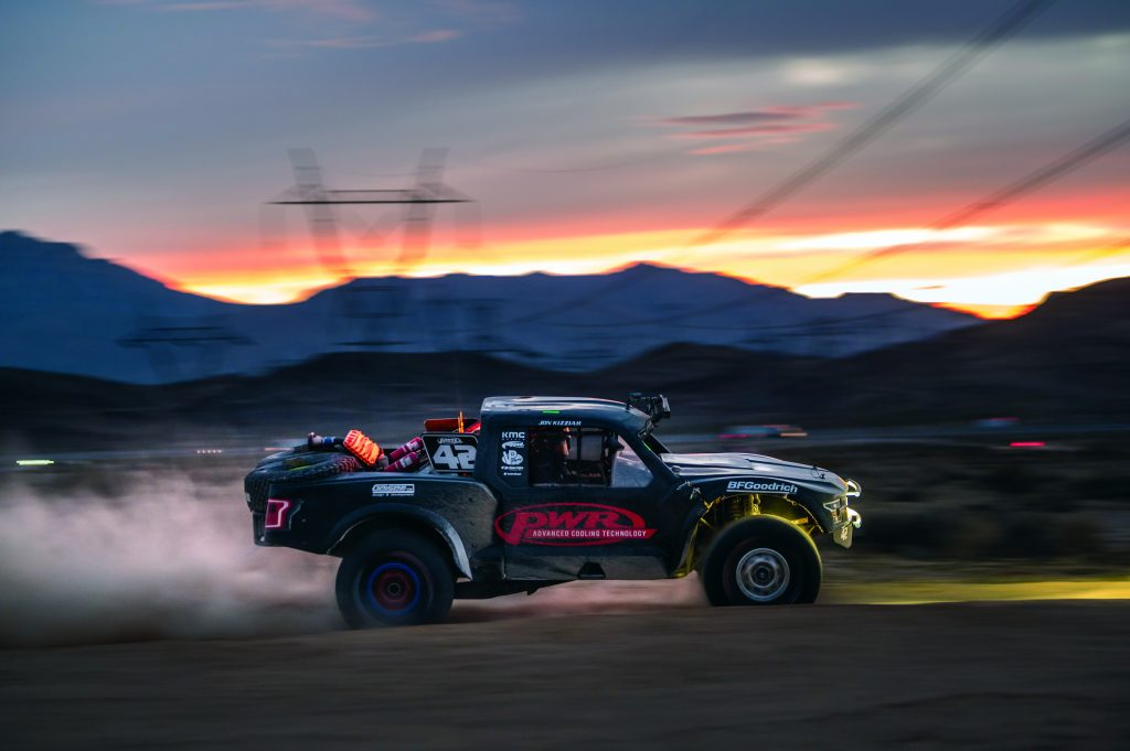 Racing in the Mint 400