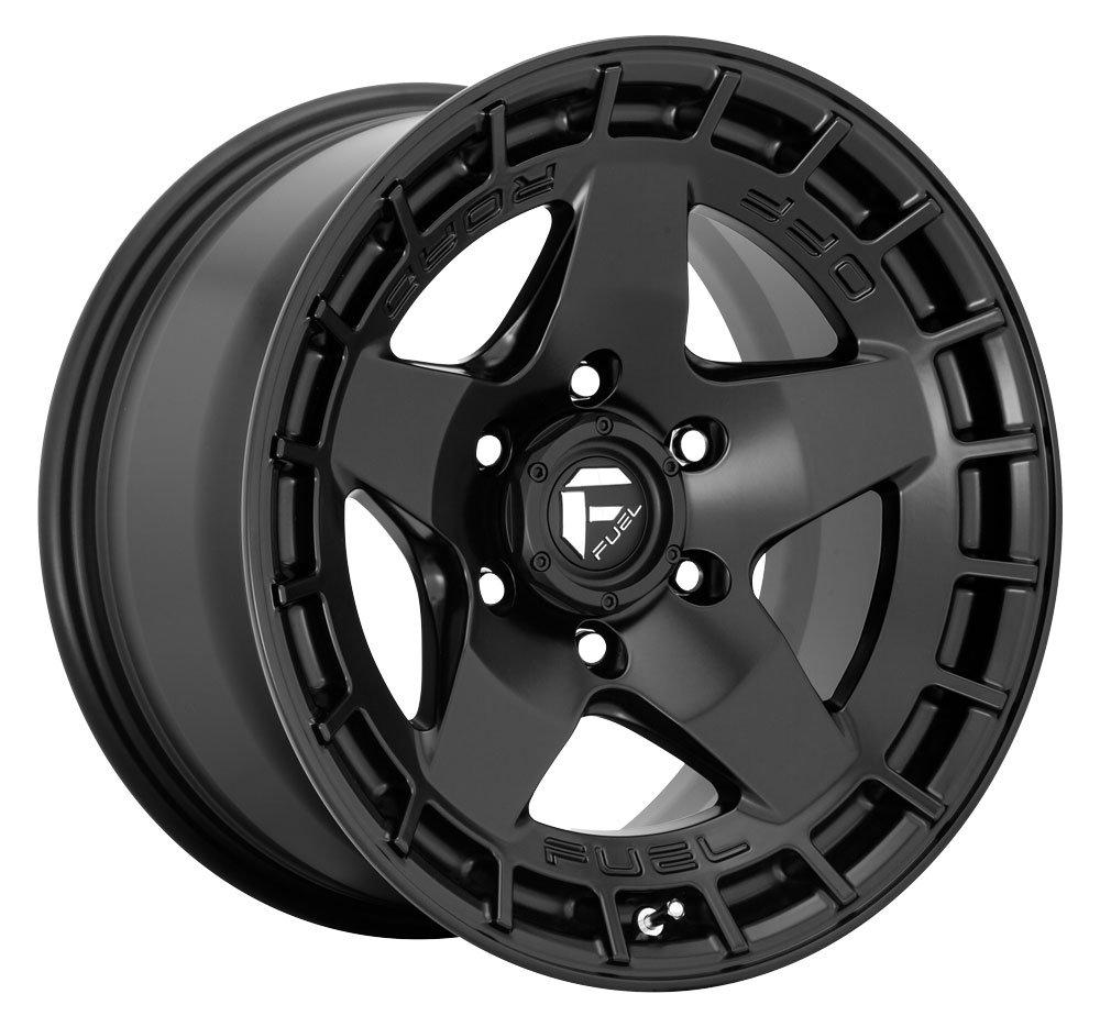 Fuel OffRoad D733 Warp Aftermarket Wheels