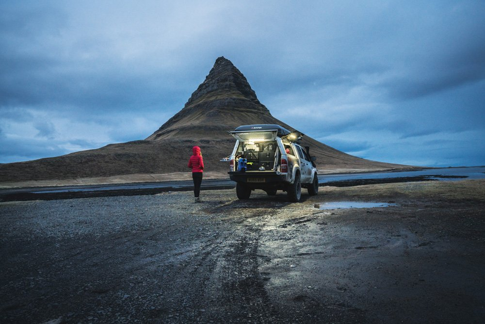 """On Snaefellsnes Peninsula's northern shore is Kirkjufell, meaning """"church mountain"""""""