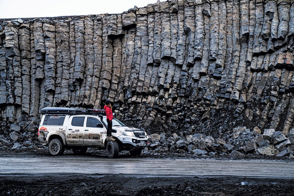 ODing on Iceland's rough roads