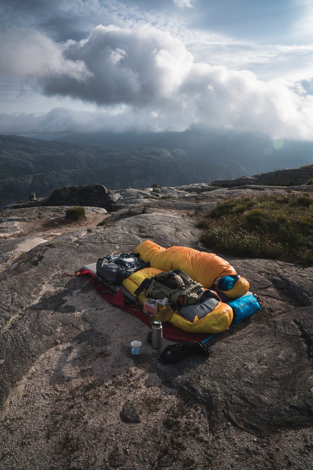 Sleeping under the stars in the Nordics