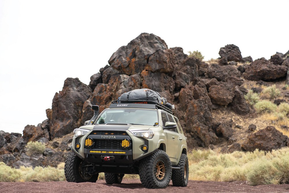 This Gobi roof rack has proved valuable and versatile